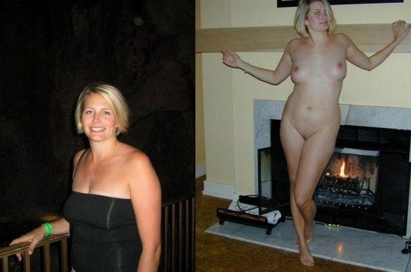 зрелые голые в одежде фото