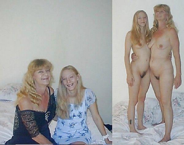 частное ню фото мамы с дочкой